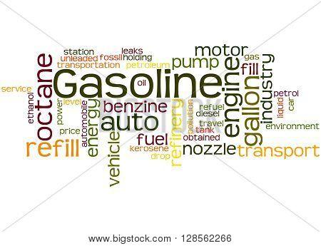 Gasoline, Word Cloud Concept 2
