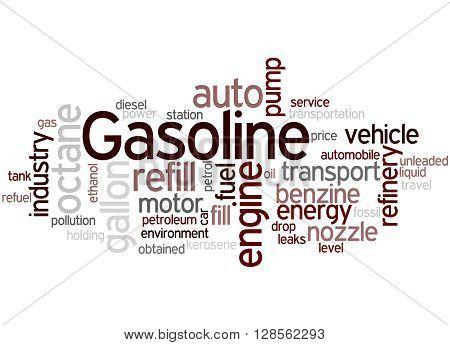 Gasoline, Word Cloud Concept 4
