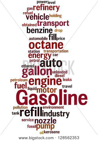 Gasoline, Word Cloud Concept 8