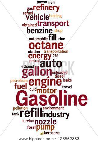 Gasoline, Word Cloud Concept 8