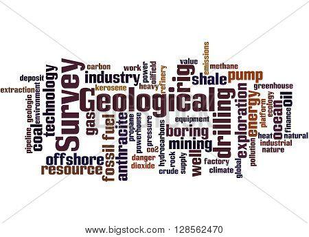 Geological Survey, Word Cloud Concept 3