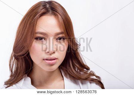 Confident Asian American Businesswoman