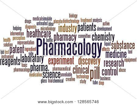 Pharmacology, Word Cloud Concept 2