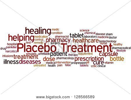 Placebo Treatmen, Word Cloud Concept 3