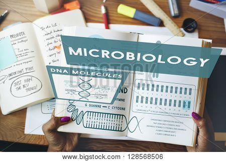 Micro Biology Bacteria Disease Illness Laboratory Concept