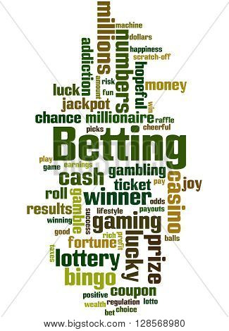 Betting, Word Cloud Concept 6
