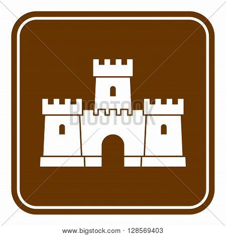 A type of fortified structure built in Europe and the Middle East during the Middle Ages by nobility.