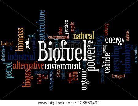 Biofuel, Word Cloud Concept 4