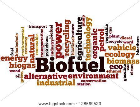 Biofuel, Word Cloud Concept 5