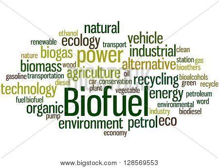Biofuel, Word Cloud Concept 7