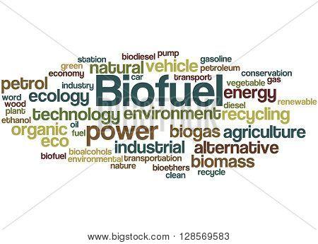 Biofuel, Word Cloud Concept 8