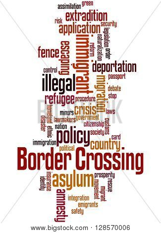 Border Crossing, Word Cloud Concept 5