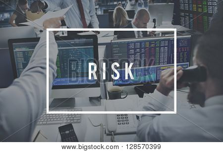 Risk Investment Opportunity Management SWOT Concept