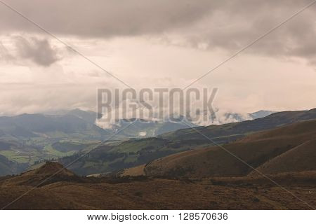 Andes Mountains Is Split Into Several Ranges Which Are Separated By Intermediate Depression