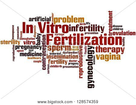 In Vitro Fertilisation, Word Cloud Concept 9