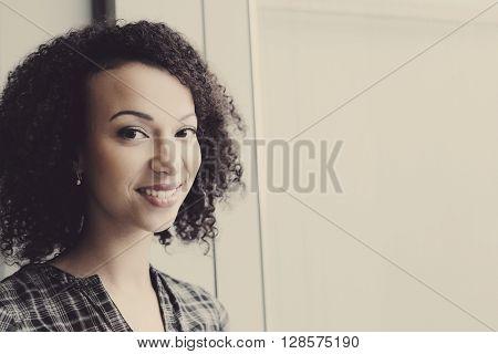 Cute girl with beautiful face