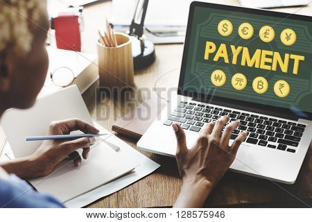 Payment Pay Balance Banking Credit Customer Concept