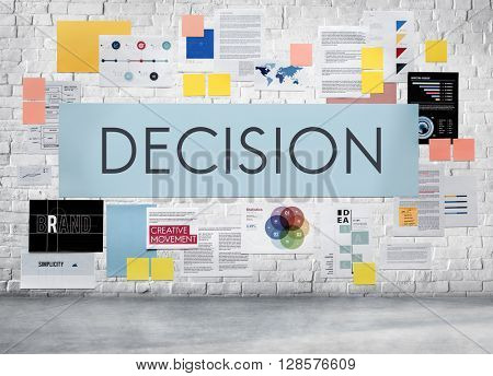 Decision Conclusion Opportunity Development Concept