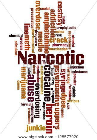 Narcotic, Word Cloud Concept 9