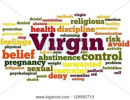 Virgin, Word Cloud Concept 4