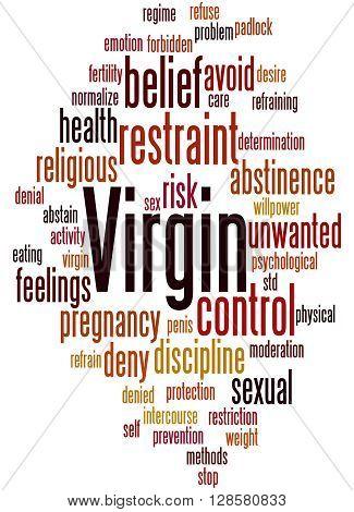 Virgin, Word Cloud Concept 8