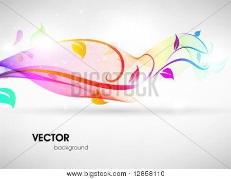 Kleurrijke bloemen zomer oppervlak. Vector abstracte achtergrond