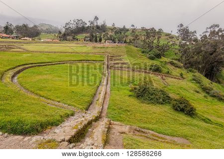 Ingapirca The Castle Complex Is Of Canar Inca Origin Ecuador South America