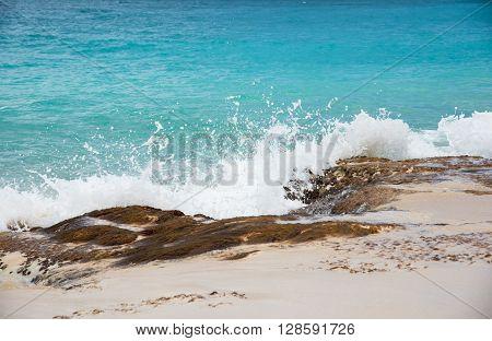Baie Rouge  Pink Sand Beach