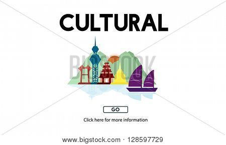 Cultural Travel Locations Shrine Traditional Concept