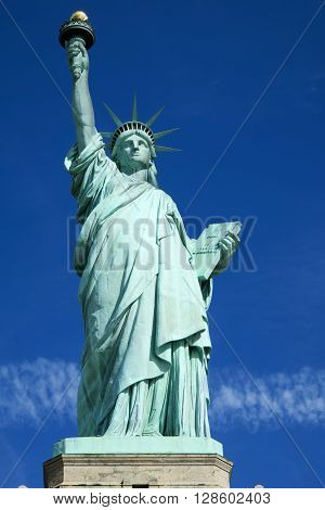 Statue of Liberty - Liberty Island, New York City, USA