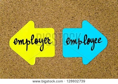 Message Employer Versus Employee
