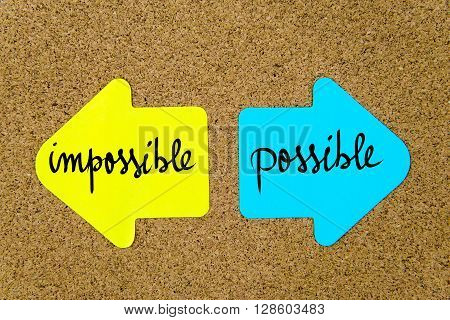 Message Impossible Versus Possible
