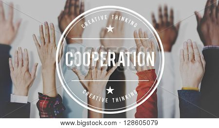 Cooperation Together Unity Agreement Concept