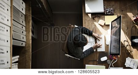 Businesswomen Creative Inspiration Occupation Concept