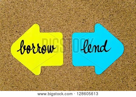 Message Borrow Versus Lend