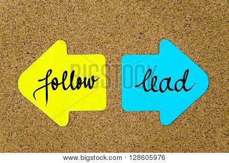 Message Follow Versus Lead
