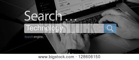 Technology Innovation Share Digital Innovative Concept