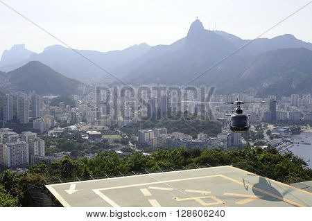 View From The Sugaloaf At Botafogo And Other Disctricts Of Rio De Janeiro.