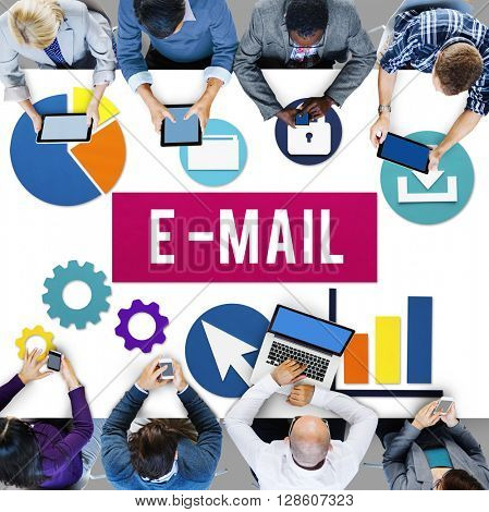 E-Mail Communication Connection Internet Concept