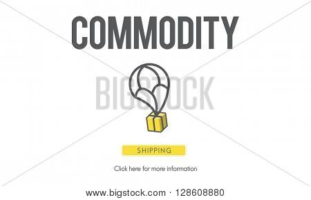 Commodity Distribution Freight Industrial Trade Concept