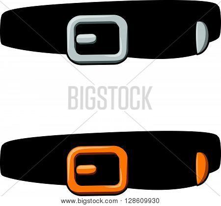 Belt cartoon illustration .eps10 editable vector illustration design