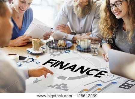 Finance Balance Bookkeeping Budget Credit Loan Concept