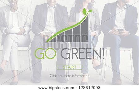 Go Green Business Environment Ecology Concept