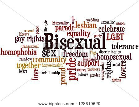 Bisexual, Word Cloud Concept 9