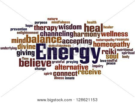 Energy, Word Cloud Concept 4