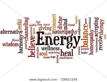 Energy, Word Cloud Concept 9