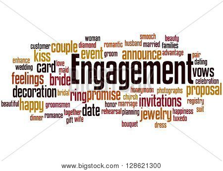 Engagement, Word Cloud Concept 2