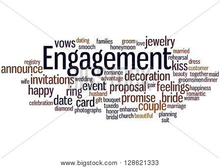Engagement, Word Cloud Concept 5