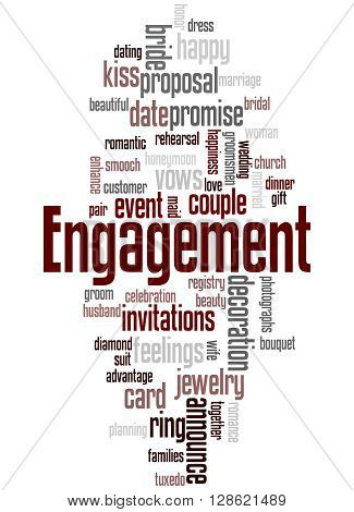 Engagement, Word Cloud Concept 8