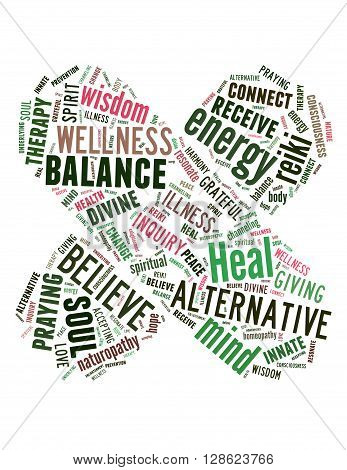 Heal Faster, Word Cloud Concept 3